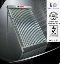 Split Stainless Steel Heat Pipe Solar Water Heater