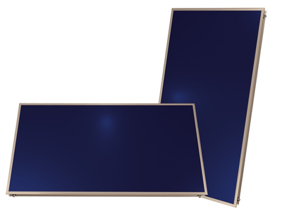 Blue Selective Film Flat Solar Collector II