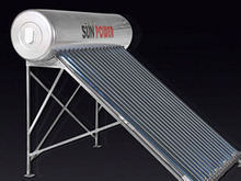 Stainless steel compact low pressurized Solar Water Heater