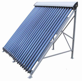 Manifold Residential Vacuum Tube Solar Water Heater