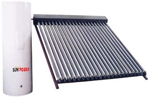 Powerful Commercial Vacuum Tube Solar Water Heater