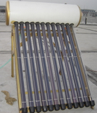 Powerful Compact Pressurized Solar Water Heater