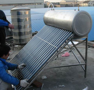 tankless Copper Coil residential Solar water heater