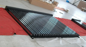 Pressurized Heat Pipe Solar Water Heater Collector