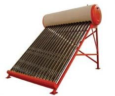 non pressurized thermosyphon vacuum tube Solar Water Heater
