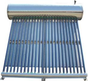 Sunpower solar water heater