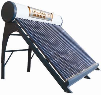 Low Pressure glass vacuum tube solar Water Heater