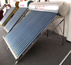 stainless steel compact Heat Pipe Solar Water Heater (SPP)