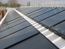 Black Chrome Flat Plate Solar Collector