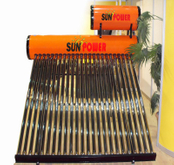 Non Pressure Cheap compact Solar Water Heater