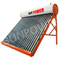 Unpressurized rooftop residential Solar Water Heater