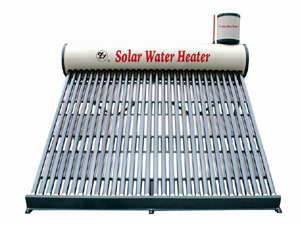 Low Pressure residential evacuated tube Solar Water Heater
