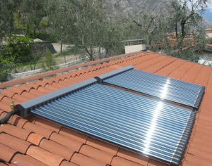 Tankless Commercial Evacuated Tube Solar Water Heater