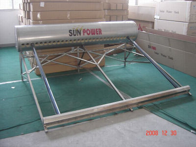 Low Pressurized commercial compact Solar Water Heater