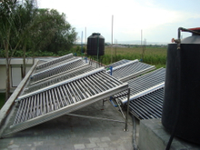 Project commercial Solar Water Heater System