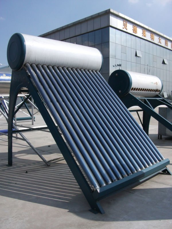 thermosyphon non pressurized vacuum tube Solar Water Heater