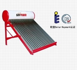 Shower Low Pressure evacuated tube Solar Water Heater