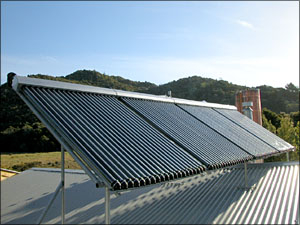 Split Heat Pipe Tube Solar Heating Collector (SPA)