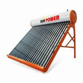 Non-pressure powerful vacuum tube Solar Water Heater