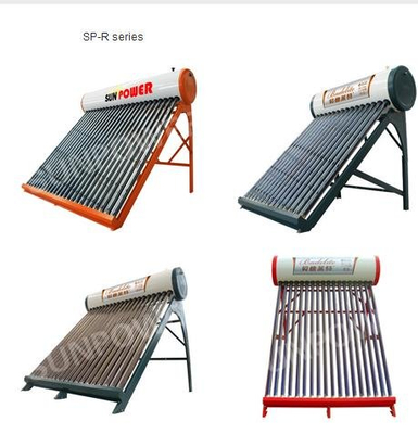 Non Pressure collector evacuated tube Solar Water Heater