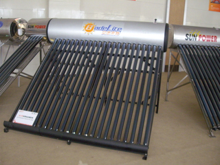 non pressurized compact evacuated tube Solar Water Heater