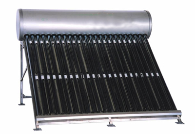 Unpressurized commercial Vacuum Tube Solar Water Heater