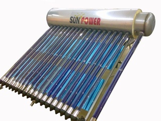 220L Stainless Steel Pressurized Solar Water Heater (SPP-470-58/1800-24-C)