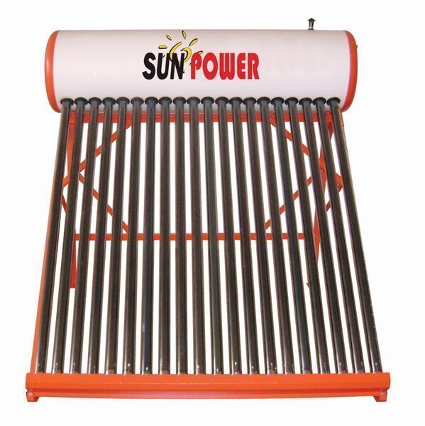 100L Non Pressure evacuated tube Solar Water Heater