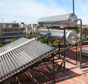 Horizontal Solar Collector Non Pressurized (SPCF) Electric Water Heater Project for Swimming Pool (SPCF-58/1800-48)
