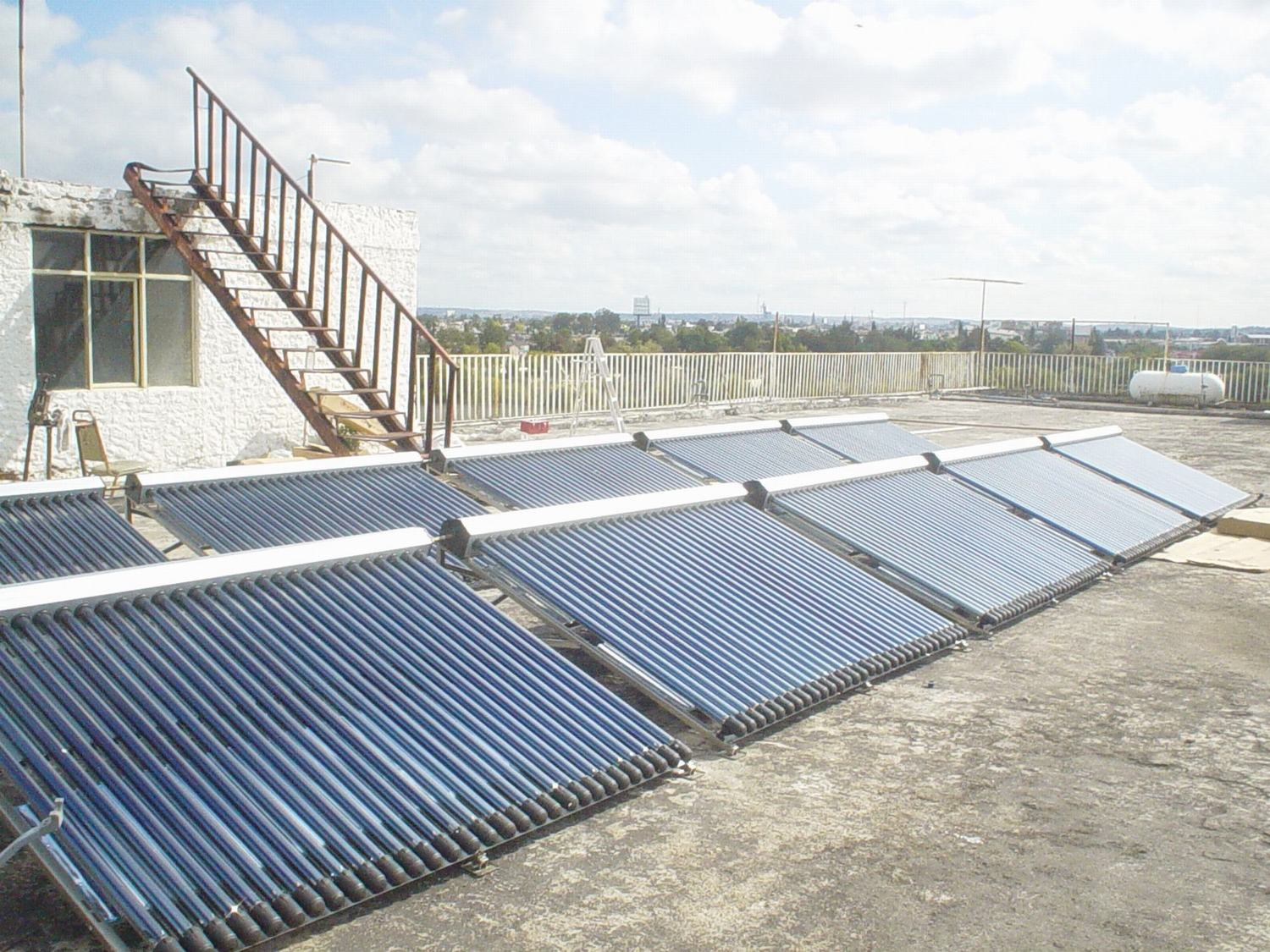 Separated Solar Collector