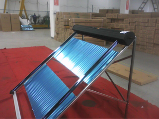 Cheap Pressurized Heat Pipe Solar Water Heater