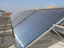 Low Pressure Project vacuum tube Solar Water Heater